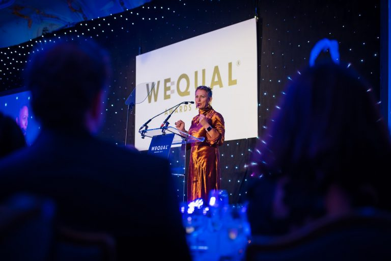 WeQual awards ceremony